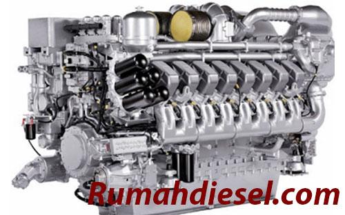 Komponen Mesin Diesel Beserta Fungsinya !