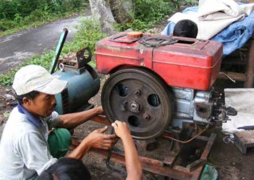 Cara Memperbaiki Mesin Diesel Tak Ada Kompresi