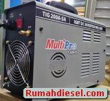 Mesin Las Argon 450 Watt TIG 200 A SA Multipro