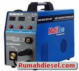Mesin Las Multipro Mig Mag 200G-SP Argon Stainless Aluminium Besi