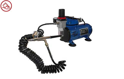 HL Air Brush Mini Compressor Set