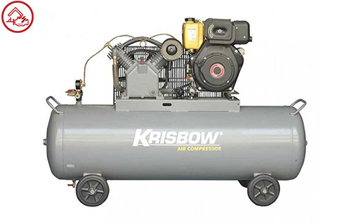 Kompresor Krisbow Kompresor Angin 5.5Hp 340L 10Bar 3Ph
