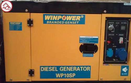 Genset Silent Winpower 7500 Watt